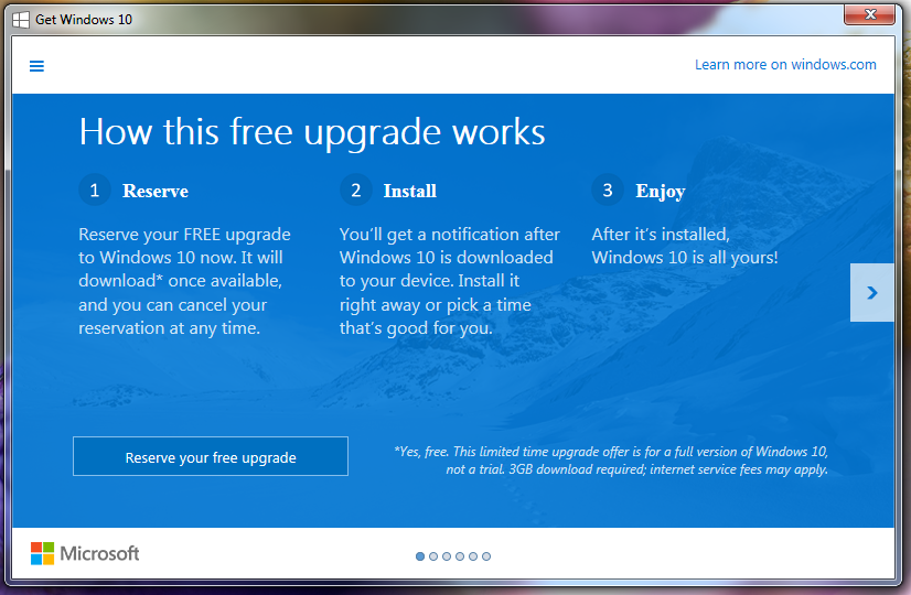 Upgrade-Windows-10-free
