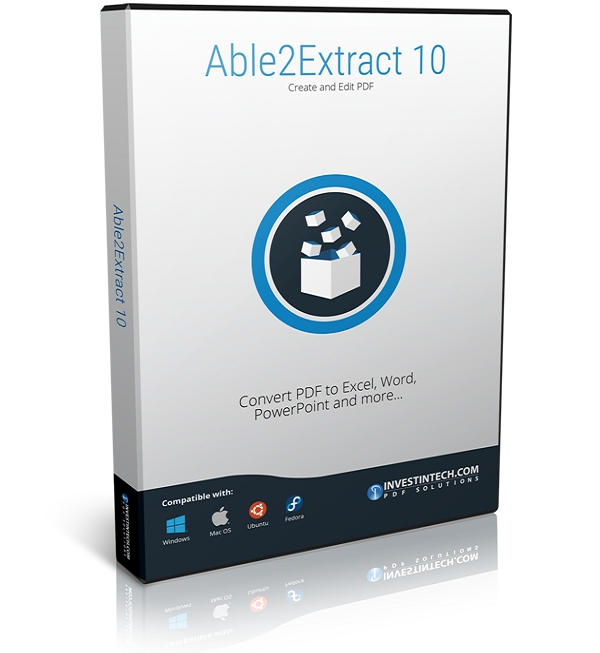 Able2Extract 10 Review: Convert Any Format to Microsoft Excel With Able2Extract 10