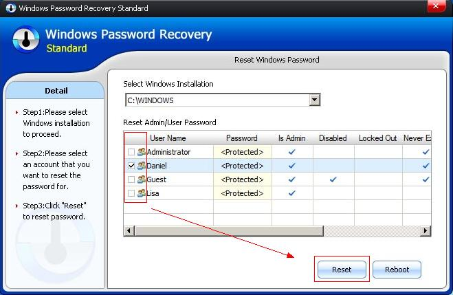 Windows-Password-Recovery