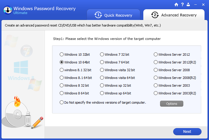 Windows-Password-Recovery-Advanced-Recovery