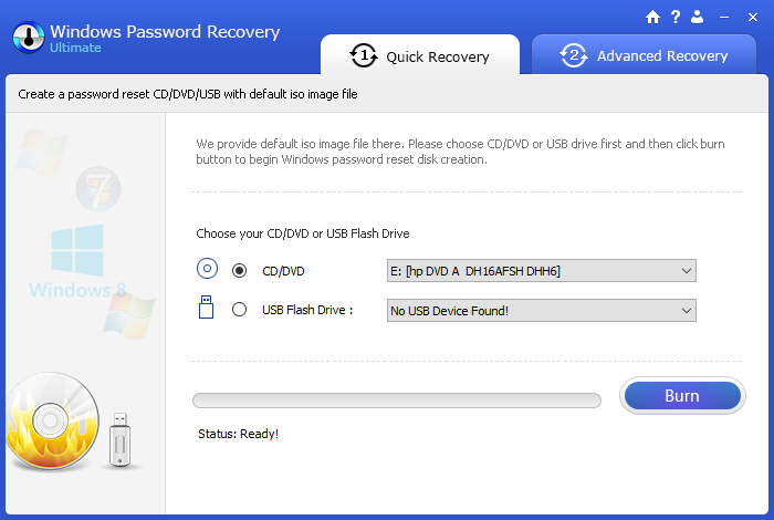 Windows-Password-Recovery-Quick-Recovery