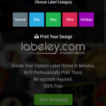 create label online frree