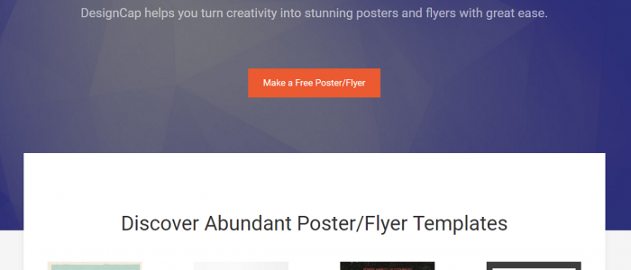 How to Create Posters and Flyers Free Online in DesignCap