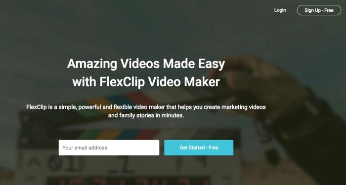 FlexClip Free Video Maker Online